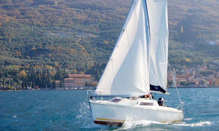 Sun Way 21  Cruising Monohull Charter for 6 People in Brenzone, Italy