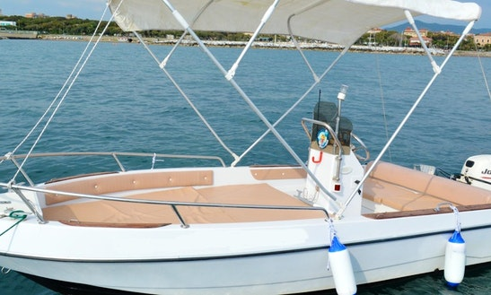 2005 Gio Mare 2 Center Console Rental In Livorno