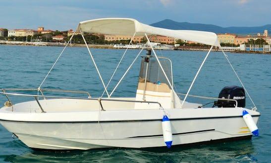 Gio Mare 1 Center Console Bareboat Rental In Livorno