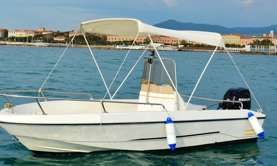 Gio Mare 1 Center Console Bareboat Rental In Livorno