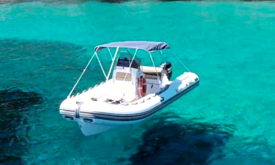 Rent 20' Rigid Inflatable Boat In Toscana, Italy