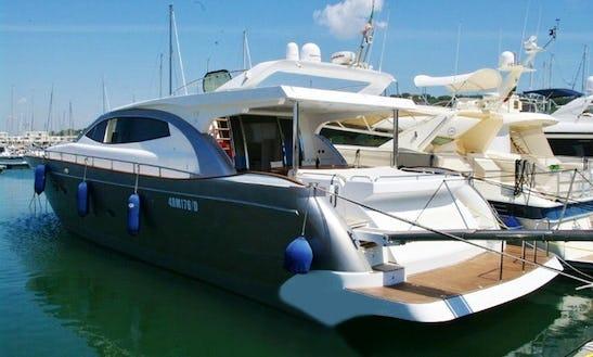 E Progetti Alena 72 Motor Yacht Charter