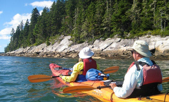 Wilderness Sealution / Single  Kayak - Westport Island, Midcoast