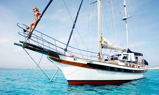 Charter 60' Formosa Gulet In Eivissa, Spain