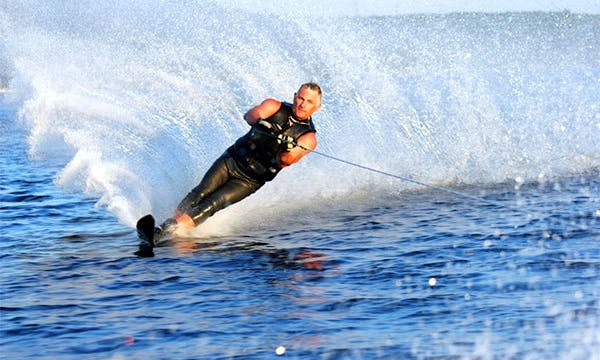 Waterskiing in Antalya, Turkey