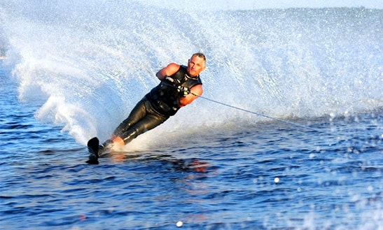 Enjoy Waterskiing In Antalya, Turkey