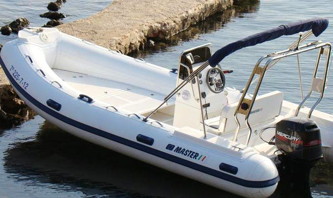 Rent Gommone Master Rigid Inflatable Boat in Villagonia, Italy