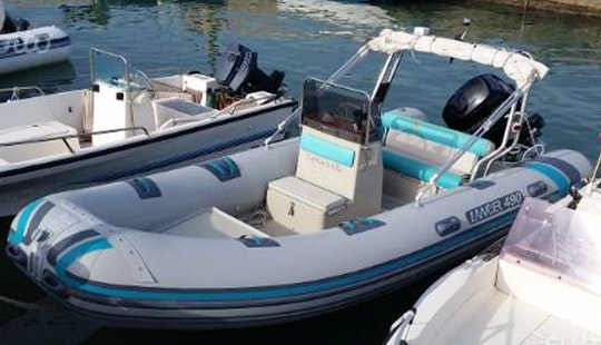 Rent Lancer 490 Rigid Inflatable Boat In Villagonia, Italy