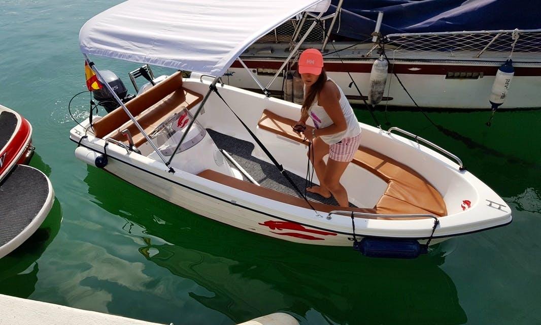14' Remus 4DS Sport Boat Rental In Fuengirola, Spain