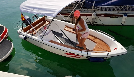 14' Remus 4ds Sport Boat Rental In Fuengirola, Spain