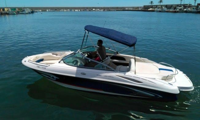 20' Monterey 208 SE Deck Boat Rental In Fuengirola, Spain