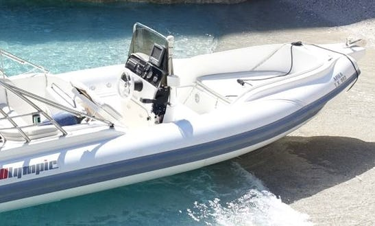 Charter 19' Ariel Rigid Inflatable Boat In Chania, Greece