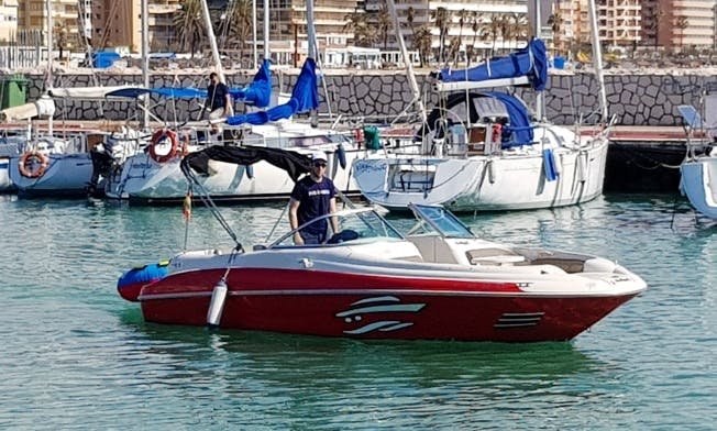 Rent Sea Ray Sundeck Bowrider In Fuengirola, Spain