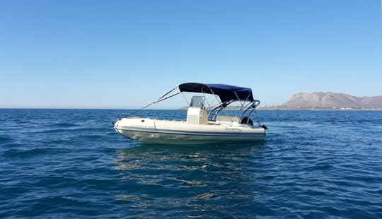 Charter 16' Alexander Rigid Inflatable Boat In Chania, Greece