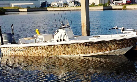 Enjoy Fishing On 22' Bx22 Seahunt Center Console In Tampa Bay, Florida