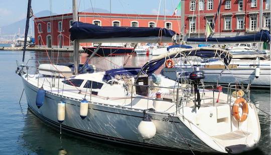 Sailing Charter On 41' Delphia  Cruising Monohull  In Napoli, Spain