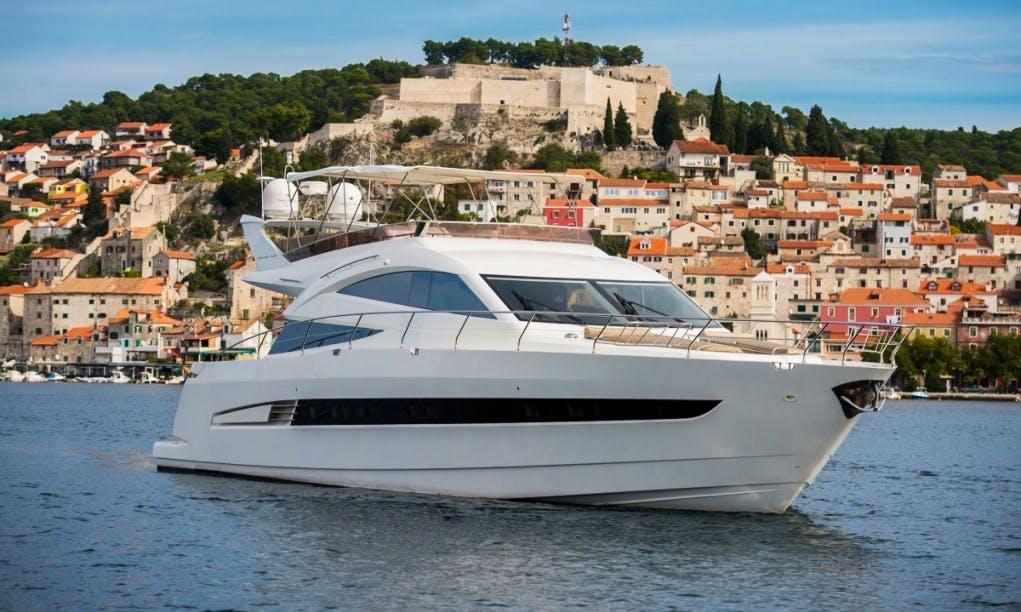 Charter 65' Galeon - Le Chiffre Power Mega Yacht in Šibenik, Croatia