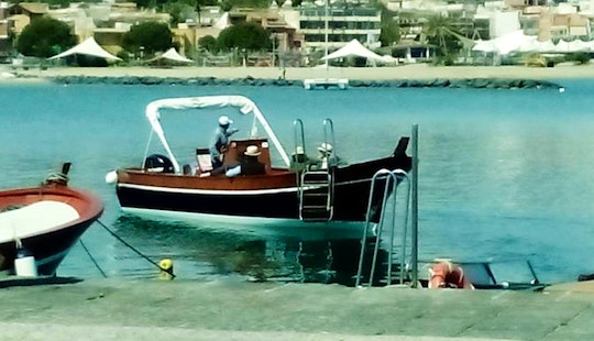 Charter A Center Console With An Experienced Guide In Mazzarò, Italy