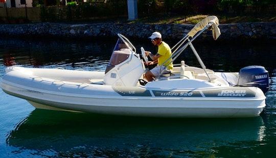 Joker Wide 520 Boat Hire In Orbetello