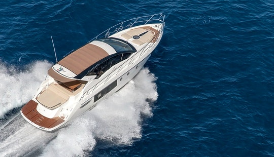 Charter 45' Cranchi Motor Yacht In Šibenik, Croatia