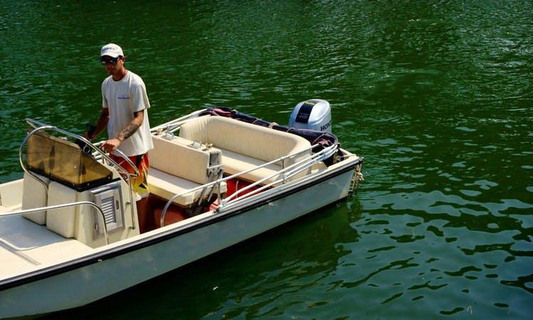 """BIBA 55"" Boat Hire in Orbetello"