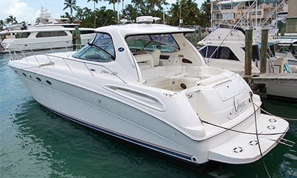 Charter 51' Sea Ray Sundancer Motor Yacht in Nassau, The Bahamas Captained charter only