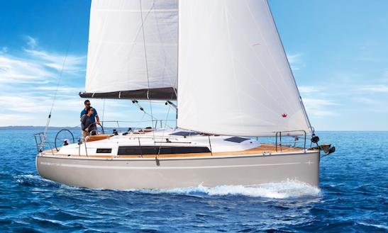 Charter 34' Bavaria Cruiser Cruising Monohull In Zadar, Croatia
