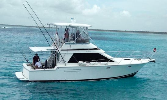 40ft  Fishing Charter From La Romana, Dominican Republic