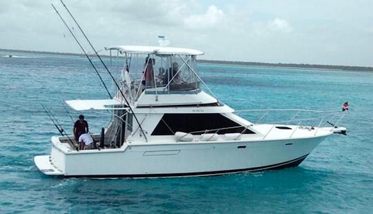 40ft  Fishing Charter From La Romana, Dominican Republic