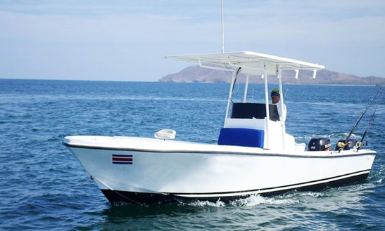Enjoy Fishing In Tamarindo, Costa Rica On 23' Mako Center Console