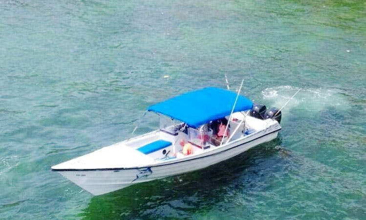 Enjoy Fishing in San Fernando, Trinidad and Tobago on Center Console