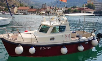 Explore the Budva, Montenegro with this Cuddy Cabin Yacht