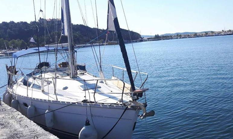 Sailing Daily Cruise witha  Jeanneau Sun Odyssey 33 Nikoleta in Limenaria, Thassos