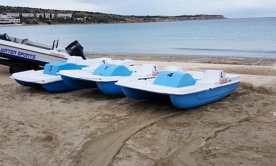 Rent A Paddle Boat In Mellieħa, Malta