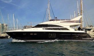 Charter Princess 62 Power Mega Yacht in Tivat, Montenegro