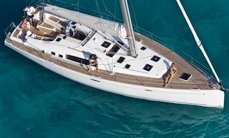 Charter 54' Beneteau Oceanis Cruising Monohull in Tivat, Montenegro