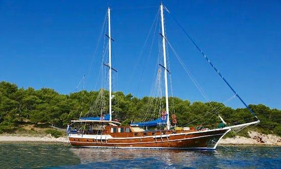 Malena 85' Sailing Yacht Gulet Charter In Šibenik, Croatia