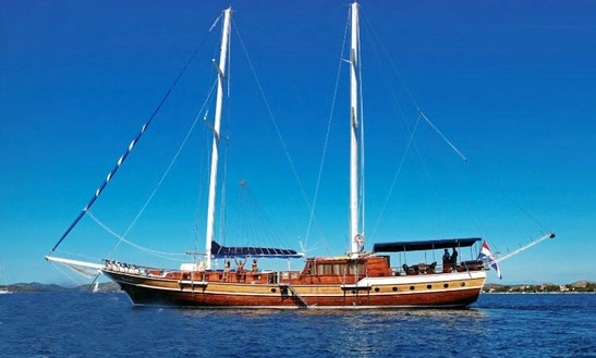 105' Sailing Yacht Charter In Šibenik