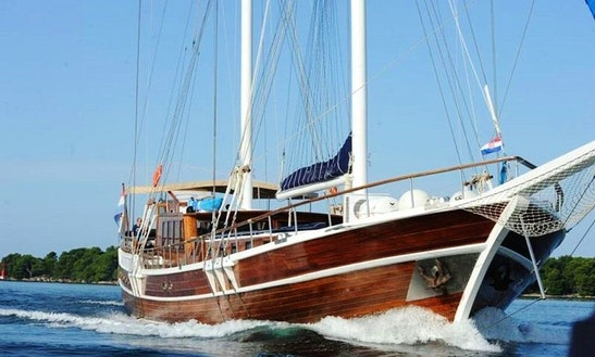Charter The 2008 Sailing Gulet In Croatia