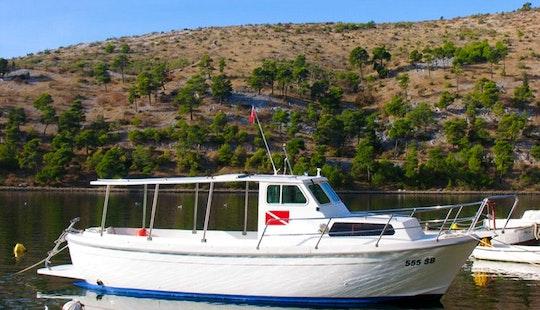 36' Head Boat Charter In Vodice, Croatia