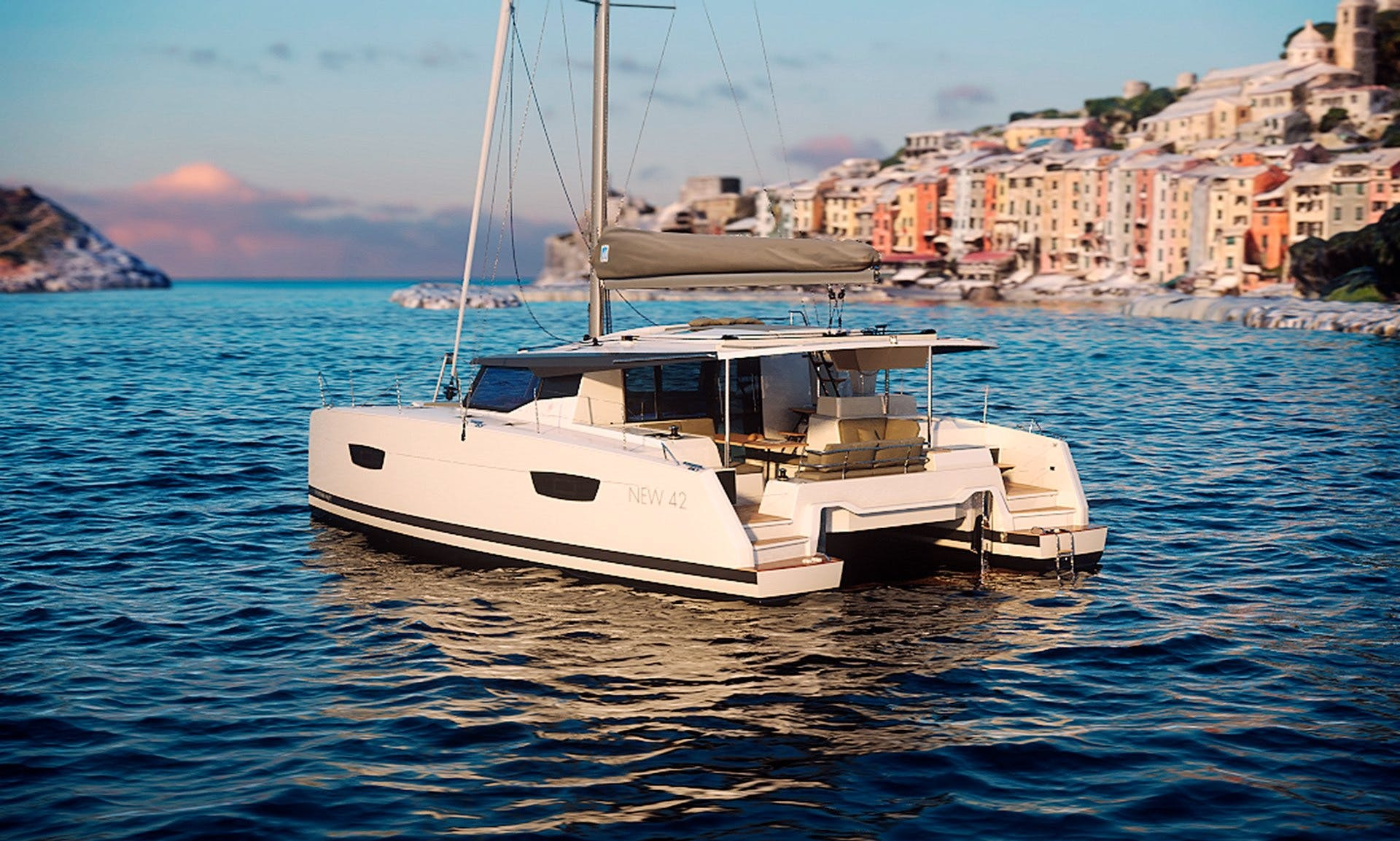 Charter 42' Fountaine Pajot - Wave Cruising Catamaran in Slano, Croatia