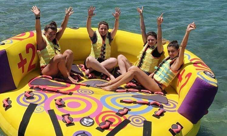 Dare to Join Sofa Rides with your friends in Vouliagmeni, Greece