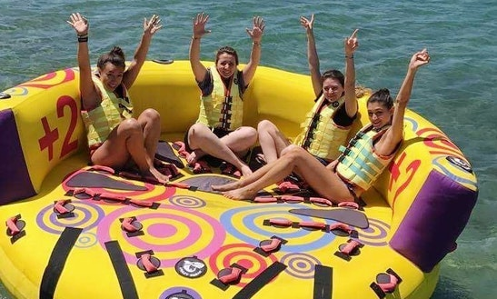 Enjoy Tubing In Vouliagmeni, Greece
