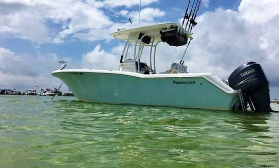 Enjoy Fishing On 23' Tidewater Center Console In Destin, Florida