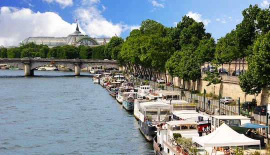 Amazing Houseboat-gold Heart Of Paris- 6 People