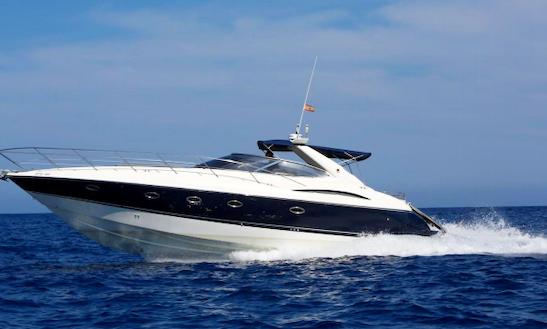 Charter 49' Sunseeker Camargue Motor Yacht In Eivissa, Spain