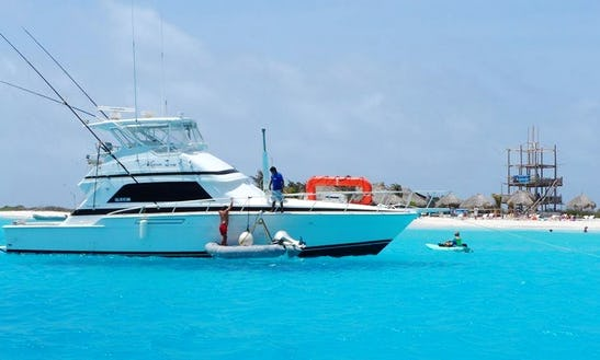Bertram 50' Convertible Motor Yacht Charter In Willemstad, Curacao