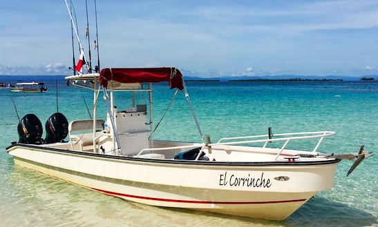 Enjoy Fishing On 25' Caribepro Center Console In Panamá, Panamá