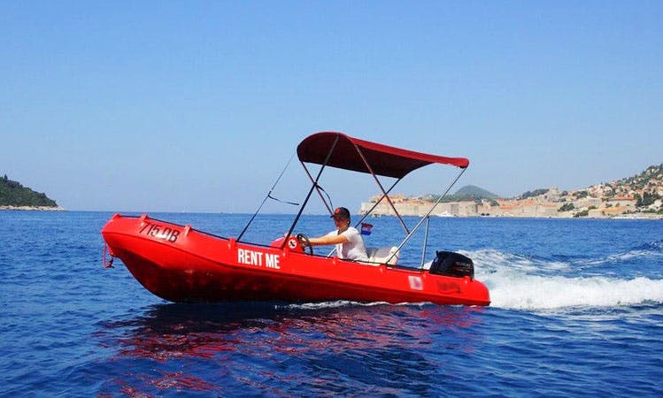 Rent a Rigid Inflatable Boat in Dubrovnik, Croatia