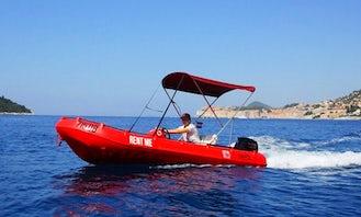 Rent a Rigid Inflatable Boat in Dubrovnik, Croatia